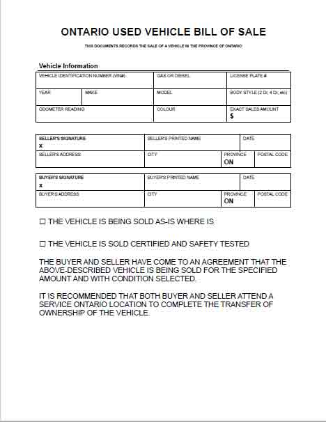ONTARIO-USED-VEHICLE-BILL-OF-SALE-FREE-TEMPLATE